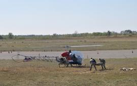 أوكرانيا تكشف عن طائرة هيليكوبتر جديدة (صور)