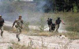 ضباط بريطانيون يبدؤون تدريبات واسعة للجيش الأوكراني غرب البلاد (صور)