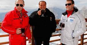 تناول بوتين وبرلسكوني لنبيذ نادر يتحول إلى قضية يرفعها المدعي العام