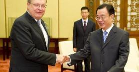 رغبة صينية بتعزيز العلاقات الاستراتيجية مع أوكرانيا