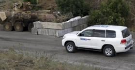مراقبو منظمة الأمن والتعاون الأوروبي يتعرضون لإطلاق نار شرق أوكرانيا
