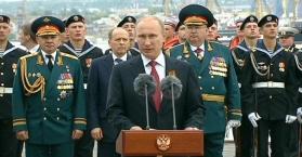 أوكرانيا: زيارة بوتين للقرم خرق واستفزاز