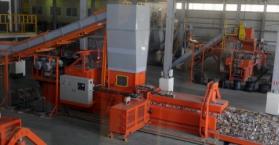 افتتاح مصنع لتصنيف وإعادة تدوير النفايات في العاصمة كييف