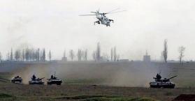 العملية العسكرية بمدينة سلافيانسك 24/04/2014