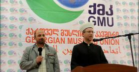"""مسلمي أوكرانيا يشاركون في مؤتمر""""رحمة للعالمين"""" الدولي بجورجيا"""