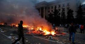 عشرات القتلى و مئات الجرحى بمدينة أوديسا إثر مواجهات بين موالين لروسيا و داعمين لوحدة أوكرانيا