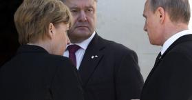 بوروشينكو يلتقي بوتن في فرنسا لمدة 15 دقيقة بوساطة ألمانية