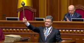 بوروشنكو يؤدي اليمين رئيساً لأوكرانيا
