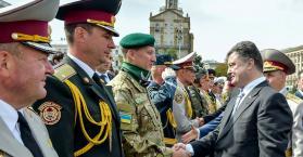 أوكرانيا تحتفل بعيد إستقلالها الـ 23 وتستعرض قوتها