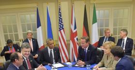 إجتماع على هامش قمة الناتو في ويلز