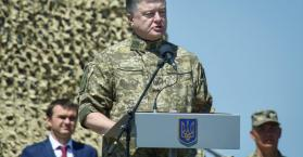 الرئيس الأوكراني يعطي تعليمات عاجلة لإنشاء منطقة عازلة في الدونباس