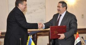 وزير خارجية أوكرانيا يبحث مع المسؤولين العراقيين تطوير العلاقات