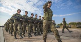 انضمام أول كتيبة من الجنود المسلمين إلى وحدات الجيش الأوكراني