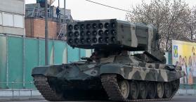 """الأمن والتعاون تطالب روسيا بتوضيحات حول وجود قاذفات اللهب """"بوراتينو"""" لدى الانفصاليين"""