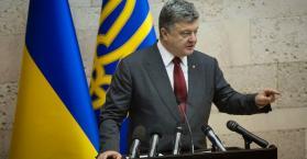 """بوروشينكو: روسيا تريد خلق منطقة """"عدم استقرار"""" من سوريا إلى أوكرانيا"""