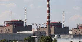 مفاعل زاباروجيا لتوليد الطاقة الننوية