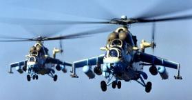 أوكرانيا تساهم بأربع طائرات مروحية لحفظ السلام في الكونغو