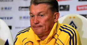 بلوخين يستقيل من منصب مدرب منتخب أوكرانيا لكرة القدم