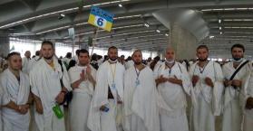 بعد أداء المناسك وزيارة المقدسات والمتاحف.. 160 حاجا يعودون إلى أوكرانيا
