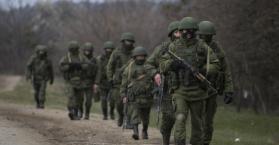 قوات روسية في شرق أوكرانيا