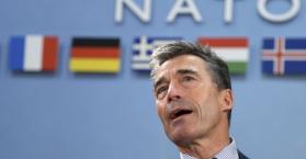راسموسن يصل كييف لبحث العلاقات بين أوكرانيا وحلف الناتو