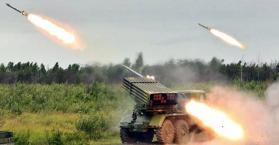 قصف بصواريخ قراد لمميناء ماريوبيل