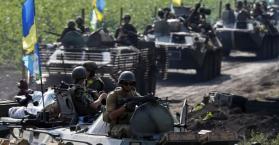 القوات الأوكرانية تعلن قتل 250 إنفصاليا خلال 24 ساعة