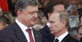بوتن يؤيد خطة بيترو بوروشينكو و روسيا تلاحق وزير الداخلية الأوكراني عبر الانتربول