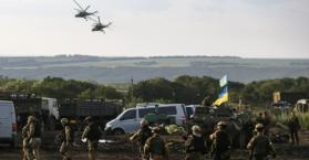 الجيش الأوكراني يواجه الانفصاليين شرق اوكرانيا