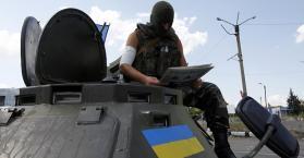 هدوء حذر بشرق أوكرانيا وصمود مبدئي لوقف إطلاق النار