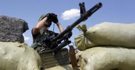 مقاتل في شرق أوكرانيا