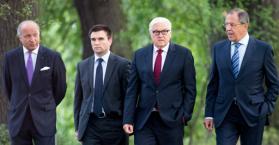 برلين: الأزمة الأوكرانية تلقي بظلالها في المفاوضات الرباعية
