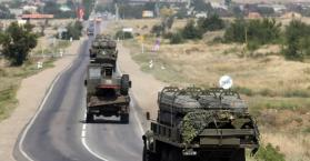 توغل القوات الروسية في الأراضي الأوكرانية