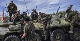 جنود روس في شرق أوكرانيا