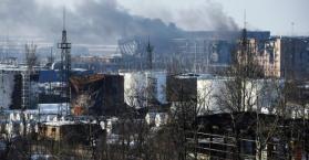الجيش الاوكراني يقول إن المعارك مستمرة قرب مطار دونيتسك في الشرق