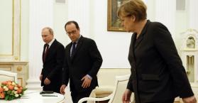 """أولوند يقول إن المبادرة بشأن أوكرانيا """"احدى آخر الفرص"""" للسلام"""