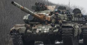دبابات تعود للانفصاليين شرق أوكرانيا