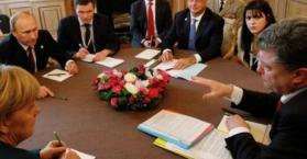 """""""رباعية النورماندي"""" تؤكد على ضرورة إتمام اتفاقية مينسك قبل نهاية 2015"""