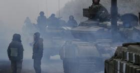 الجيش الأوكراني:الانفصاليون يقاتلون للسيطرة على خط السكك الحديدية في ديبالتسيف