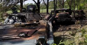 مصرع 14 جندي أوكراني وإصابة 30 آخرين في كمين شرق البلاد