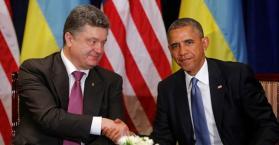 أوباما يدعو إلى دعم الديمقراطية في أوكرانيا
