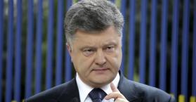 بوروشينكو: أوكرانيا تجنبت كارثة وطنية