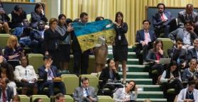 الوفد الأوكراني يغادر قاعة الجمعية العامة للأمم المتحدة خلال خطاب فلاديمير بوتين