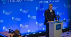 بوروشينكو يدعو الأمم المتحدة للمساعدة في حل النزاع الدائر بشرق أوكرانيا