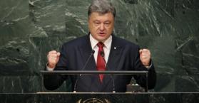 الرئيس الأوكراني يسخر من دعوة روسيا لتشكيل تحالف ضد الإرهاب