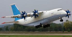 """أوكرانيا وروسيا تختبران طائرة النقل العسكرية الجديدة """"أن 70"""""""