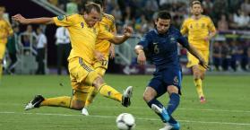 أوكرانيا تواجه فرنسا في الملحق الأوروبي لتصفيات كأس العالم 2014
