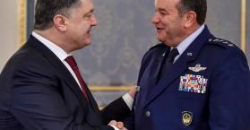قائد قوات حلف شمال الاطلسي الجنرال الاميركي فيليب بريدلاف يلتقي بوروشينكو