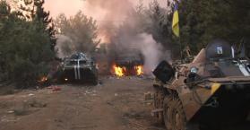 مقتل مئات الجنود الاوكرانيين  في إيلوفايسك
