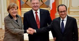 زعيما المانيا وفرنسا يعرضان على موسكو خطة للسلام في أوكرانيا